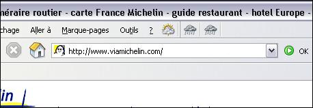 Astuce permettant de saisir rapidement l'adresse d'un site